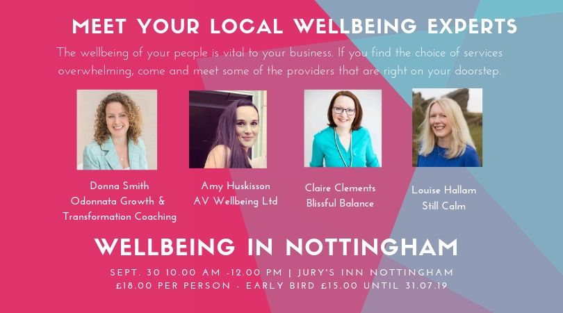 Wellness in Nottingham- Wellbeing showcase